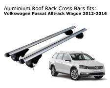 Aluminium Roof Rack Cross Bars fits Volkswagen Passat Alltrack Wagon 2012-2016