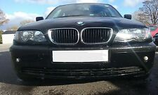 BMW 316i E46 SALOON 2004 N46 ENGINE N/S/FRONT BREAKING FOR PARTS O/S/REAR BLACK