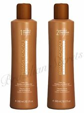"CADIVEU BRASIL CACAU SHAMPOO & CONDITIONER POST BRAZILIAN TREATMENT  ""HOME CARE"""