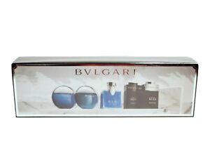 BVLGARI 5 Pcs Men's Mini Gift Collection Set NIB