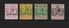 Grenada - Geo. V Specimen overprints