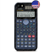 Calculator Funny Hard Rubber Case Cover For iPhone 11 Pro Max Xs XR 8 Plus 7