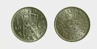 s771_10) NETHERLANDS INDIES - INDIE OLANDESI 1/10 GULDEN  AG 1945