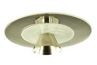 Murano Glas Decken Leuchte Spirale Zanfirico Lampe Vintage Flush Mount 60er 70er