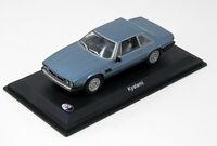 Modell  1:43 Maserati Kyalami 1976  metallic hellblau  - Leo Modell
