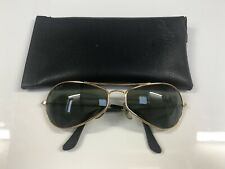 Vintage Ray Ban B&L Sunglasses Aviator Oval Bausch&Lomb USA G15