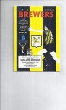 Burton Albion Non-League Teams A-B Football Programmes