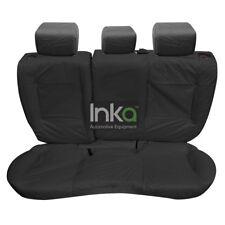 Range Rover Evoque 5Door Rear Inka Tailored Waterproof Seat Covers Black MY11-16