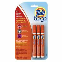 Tide to Go Instant Stain Remover Pen, 3 Pack +1 Free