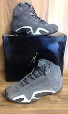 RARE🔥 Nike Air Jordan XXI 21 Graphite Gray Silver Univ Blue 313495-002 Sz10.5
