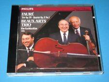 Beaux Arts Trio, Kashkashian / Faure: Trio op. 120 (GER 1990, Philips) - CD