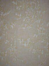 FORTUNY FABRIC Venezianina Sulphur green Antique White Cotton Venice New Remnant