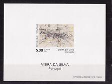 FG ND   tableau   oeuvre  de Marie Hélène Vieira da Silva   1993   num: 2835