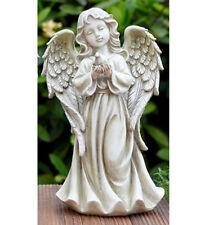 Angel Holding Dove Garden Statue Outdoor Decor