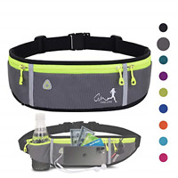 Running Belt Water Resistant Fanny Pack for Women Men Waist Bag for Hiking Fi...