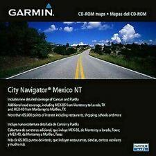 Garmin City Navigator Mexico Nt Mapas Micro/tarjeta SD | Para GPS Sat Nav