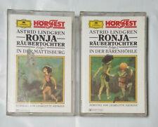 Astrid Lindgren Ronja Robber Daughter Series 1 & 2 cassette German