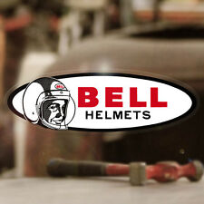 Bell Helmets Aufkleber Sticker Autocollante Helm Old School Bobber Chopper 145mm