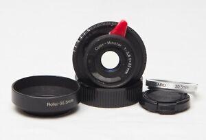 Color Minotar (Minox Lens) 35mm @ f2.8 (M39 / L39 / LTM mount)