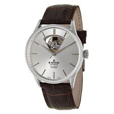 Edox Les Vauberts 85010 3B AIN Open Heart Swiss Made Automatic Men's Watch NEW