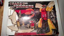 Transformers G1 Lot Vintage Omega Supreme Boxed Rocket base Works!  1980s Toys!