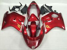 Fairing Set For HONDA Blackbird CBR1100XX 1997-2007 CBR 1100 XX Kit #05 Deep red