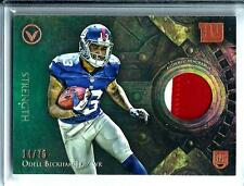 2014 Topps Valor Odell Beckham Jr. *Rookie*2/Clr Patch Relic D#14/75 N.Y. Giants
