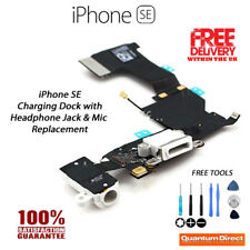 NEW iPhone SE Replacement Lightning Port/Charging Dock Assembly with Tools WHITE