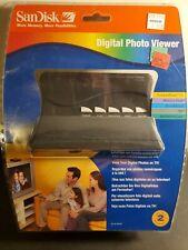 SanDisk Digital Photo Viewer, Model # Sdv1-A w/remote