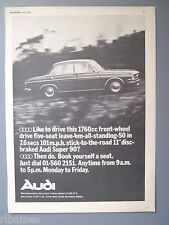 R&L Ex-Mag Advert: Audi Super 90, 4 Door Saloon