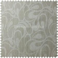 Telas y tejidos beige florales de cortinas