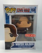 Funko Pop Marvel Captain America Civil War Armless Winter Soldier Target NEW