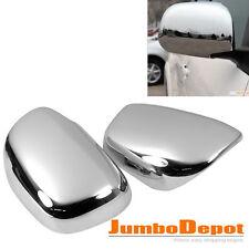Chrome Car Exterior RearView Mirror Cover Trim L&R For 2006-2012 Toyota RAV4