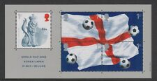 GB 2002 WORLD CUP MINIATURE SHEET SG: MS2292 MINT STAMP SHEET SEE SCAN MS2292
