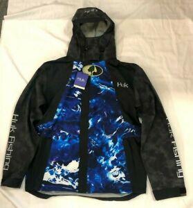 HUK Performance Fishing Hydra Jacket Reflective Jacket, Shell - Mens