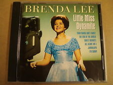 CD / BRENDA LEE - LITTLE MISS DYNAMITE