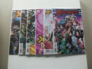 """2020 X-Force (Percy) VOLUME 1 """"Complete Set"""" of 6 Comics (1-2-3-4-5-6) NM/1ST!!!"""