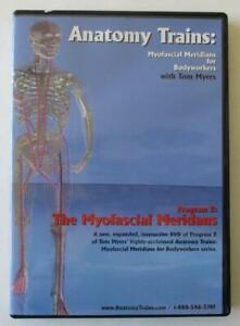 Anatomy Trains: Myofascial Meridians for Bodyworkers with Tom Myers (2004, DVD)