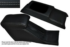 GREY STITCH CONSOLE & ARMREST SKIN COVERS FITS HONDA CIVIC EG6 EG9 EJ1 92-95