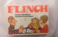 * FLINCH * Parker Brothers Card Game 1963 COMPLETE