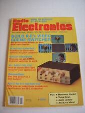 RADIO ELECTRONICS Magazine, NOVEMBER 1989, BUILD VIDEO SCENE SWITCHER, CD PLAYER
