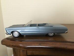 Vintage 1965 Plymouth Fury III Convertible Jo-Han Dealer Promo Car