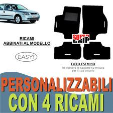 ONU - Nero Ago Feltro 4tlg 1998-2005 Tappetino auto adatto per OPEL ASTRA G