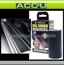 E-Tech BLACK Car Door Sill Lower Bumper Bodywork Trim Guard Protector Strip Roll