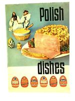 Vintage Polish Ham Dishes Cookbook Recipes Printed In Poland