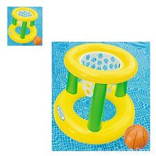 Pool Basketball Inflatable Hoop Game Toy Kids Summer Fun Sports Set Swiming New
