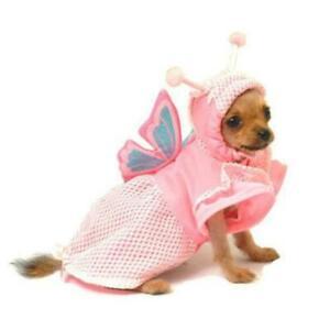 Pampet Pet Fashion Pink Butterfly Dog Jacket Halloween Costume
