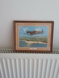 Framed picture Of A Spitfire