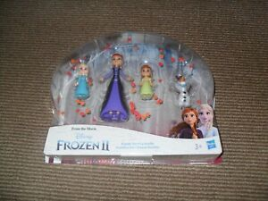 Disney Frozen 2 Family Set Figure Pack - New & Sealed