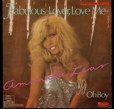 "disco 45 GIRI Amanda LEAR FABULOUS ""LOVER, LOVE ME"" - OH BOY"
